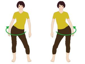 産後の骨盤体操