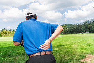ゴルフ腰痛
